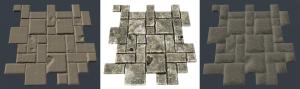 Cobblestone floor unit model Fire material Fire material FireShowcase04 300x89