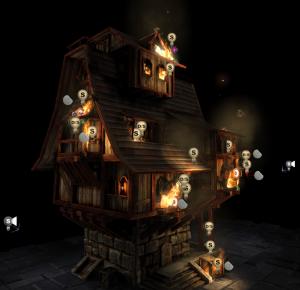 Burning house in editor screenshot Fire material Fire material FireShowcase11 300x290