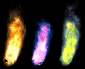 Colored flames Fire material Fire material FireShowcase14 300x242