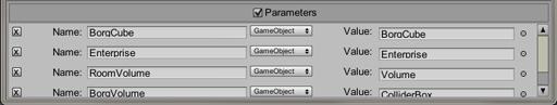 The emitter parameter panel Amps documentation Amps documentation Parameters