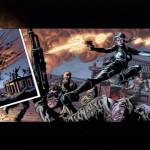 Punisher screenshot with comic strip The Punisher The Punisher: No Mercy Shot06 150x150